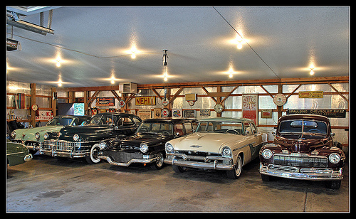 Storing Your Classic Cars